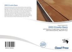 Bookcover of 2003 Croatia Open