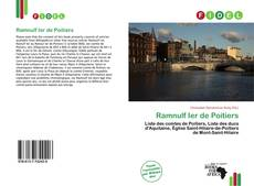 Buchcover von Ramnulf Ier de Poitiers