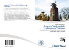 Joseph-Ferdinand de Habsbourg-Toscane kitap kapağı