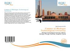 Bookcover of Campus of Michigan Technological University
