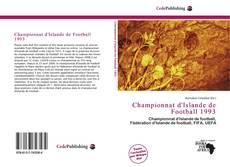 Bookcover of Championnat d'Islande de Football 1993