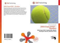 Buchcover von 2003 Copa AT&T – Doubles