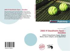 Capa do livro de 2003 If Stockholm Open – Doubles
