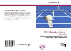 Обложка 2003 Heineken Open – Doubles