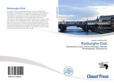 Bookcover of Roxburghe Club
