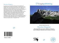 Bookcover of Nicolas Régnier