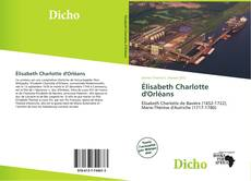 Bookcover of Élisabeth Charlotte d'Orléans