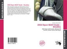 Capa do livro de 2003 Open SEAT Godó – Doubles