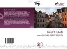 Portada del libro de Casimir II le Juste