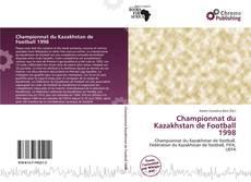 Championnat du Kazakhstan de Football 1998 kitap kapağı