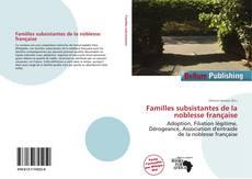 Couverture de Familles subsistantes de la noblesse française