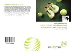 Bookcover of 2003 Grand Prix Hassan II