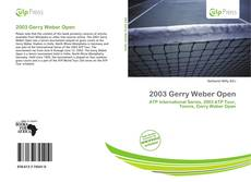 Обложка 2003 Gerry Weber Open