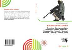Buchcover von Bataille de la Somme