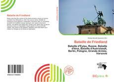 Bataille de Friedland的封面