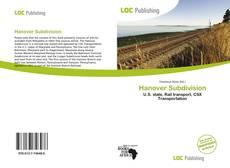 Bookcover of Hanover Subdivision