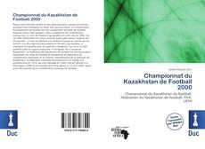 Championnat du Kazakhstan de Football 2000 kitap kapağı