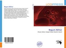 Bookcover of Begum Akhtar