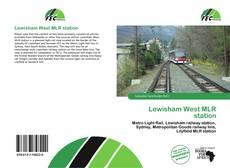 Buchcover von Lewisham West MLR station