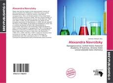 Alexandra Navrotsky的封面