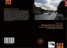 Couverture de Marguerite de Lorraine