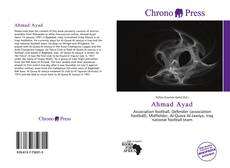 Ahmad Ayad kitap kapağı