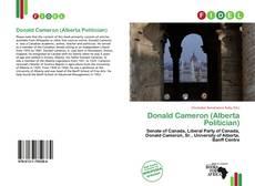 Borítókép a  Donald Cameron (Alberta Politician) - hoz