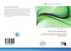 Bookcover of Afrasiyab Badalbeyli