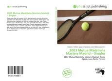 Borítókép a  2003 Mutua Madrileña Masters Madrid – Singles - hoz