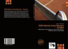Couverture de 2003 Monte Carlo Masters – Singles