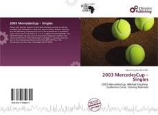 2003 MercedesCup – Singles的封面