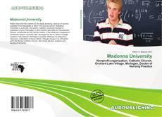 Buchcover von Madonna University