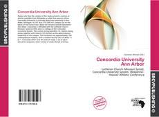 Bookcover of Concordia University Ann Arbor