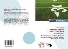 Bookcover of Jonathan Brown (Australian rules footballer)
