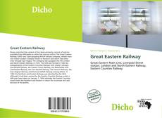 Bookcover of Great Eastern Railway