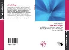 Portada del libro de Alma College