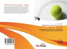 Buchcover von 2003 Priority Telecom Open – Singles