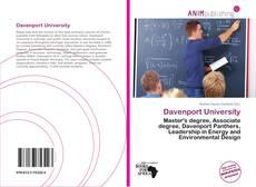 Portada del libro de Davenport University
