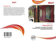Capa do livro de Hokusō Line