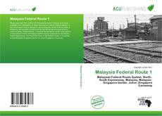 Bookcover of Malaysia Federal Route 1