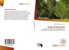 Bookcover of Siège de Beauvais
