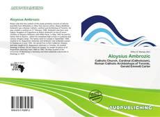 Portada del libro de Aloysius Ambrozic