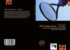Обложка 2003 Siebel Open – Singles