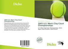 Copertina di 2003 U.S. Men's Clay Court Championships