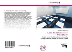 Bookcover of Lake Superior State University