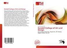 Capa do livro de Kendall College of Art and Design