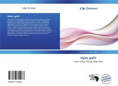 Couverture de Hyles gallii