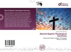 Обложка Detroit Baptist Theological Seminary