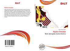 Buchcover von Hyles lineata