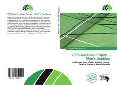 Bookcover of 2003 Australian Open – Men's Doubles
